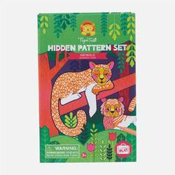 Tiger Tribe Hidden Pattern Set | Animals