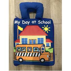 Dyles My Day At School cloth book