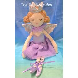 Fairy Ballerina Plush Doll | Purple