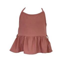Girls Racer Back Floaty Top