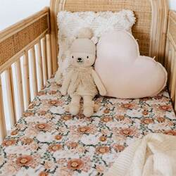 Snuggle Hunny Kids Enchanted I Fitted Cot Sheet
