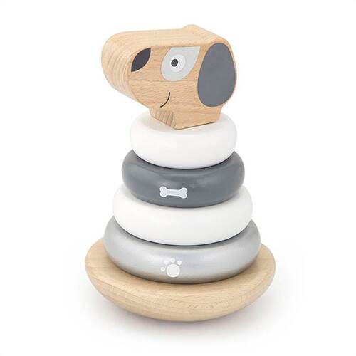 Viga Wooden Stacking Puppy