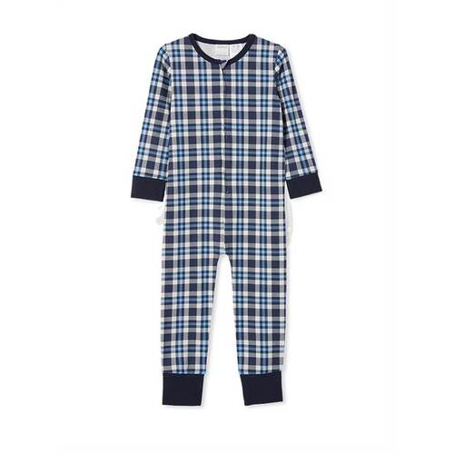 Milky Check Sleep Onesie