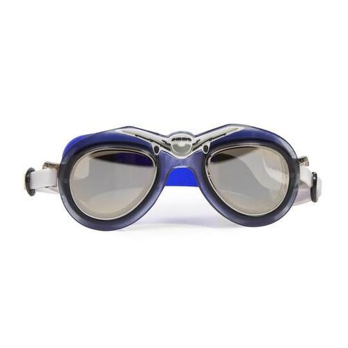 Bling 2o Air Stream Blue Pilot Swimming Goggles