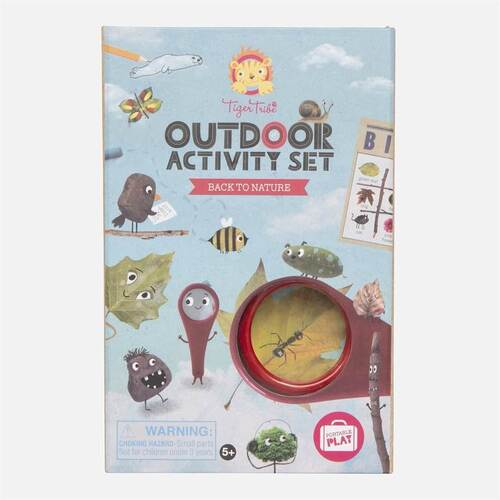 Tiger Tribe Outdoor Activity Set | Back to Nature
